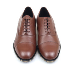 Executive Oxford Captoe Brown