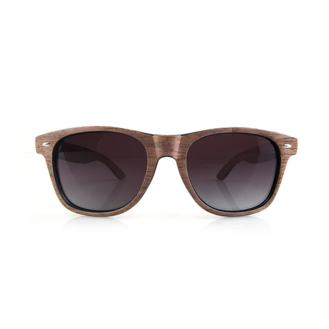 Fletcher Brown Wooden Sunglasses - GUTENINC ID
