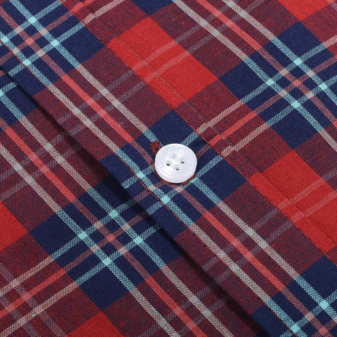 Koln Flannel Red Blue Shirt