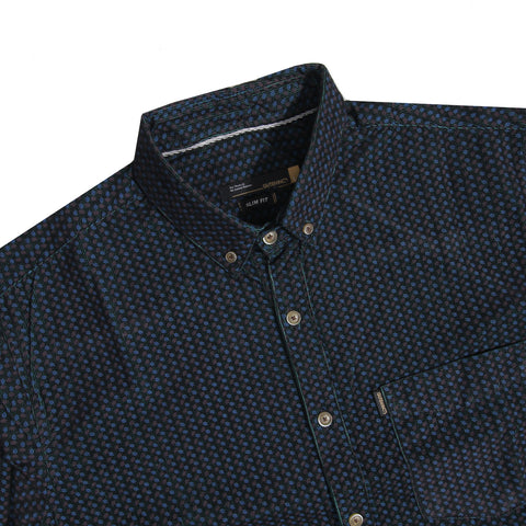 Lyon Corduroy Motive Green Shirt