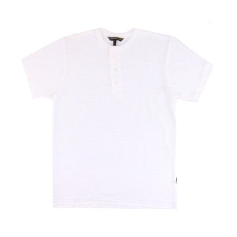 Mischa Henley White Two Tone SS