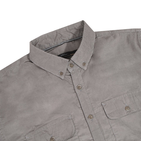 Muller Corduroy Light Grey Shirt