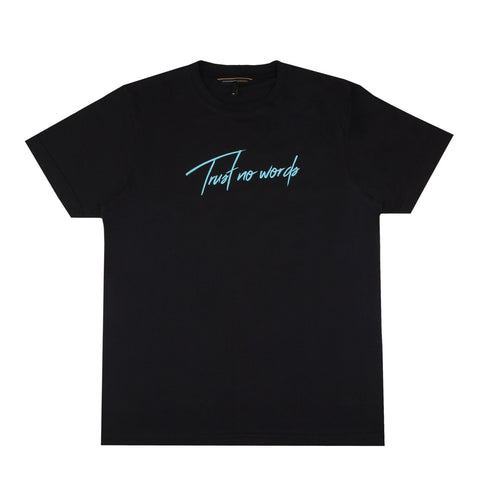No Trusted Black T-Shirt