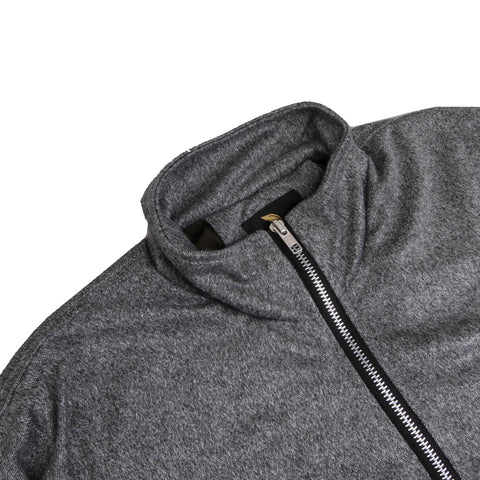 Nord Turtle Neck Gray Misty Suede