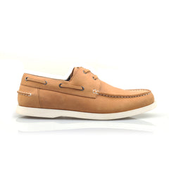 Poka Boat Shoe Brown
