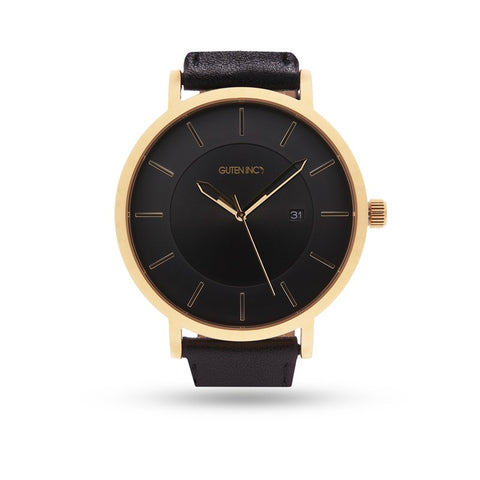 Sincere 3.0 Black Gold Watch