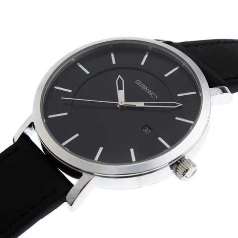 Sincere 3.0 Black Silver Watch