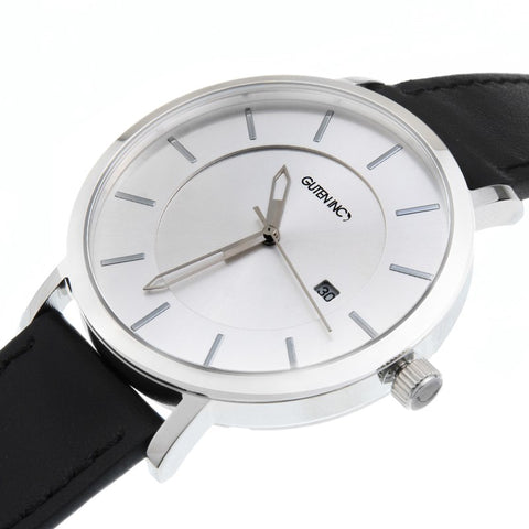 Sincere 3.0 White Silver Watch