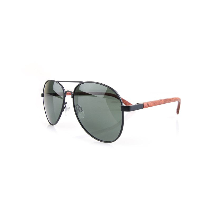 Stanley Brown Aviator Sunglasses