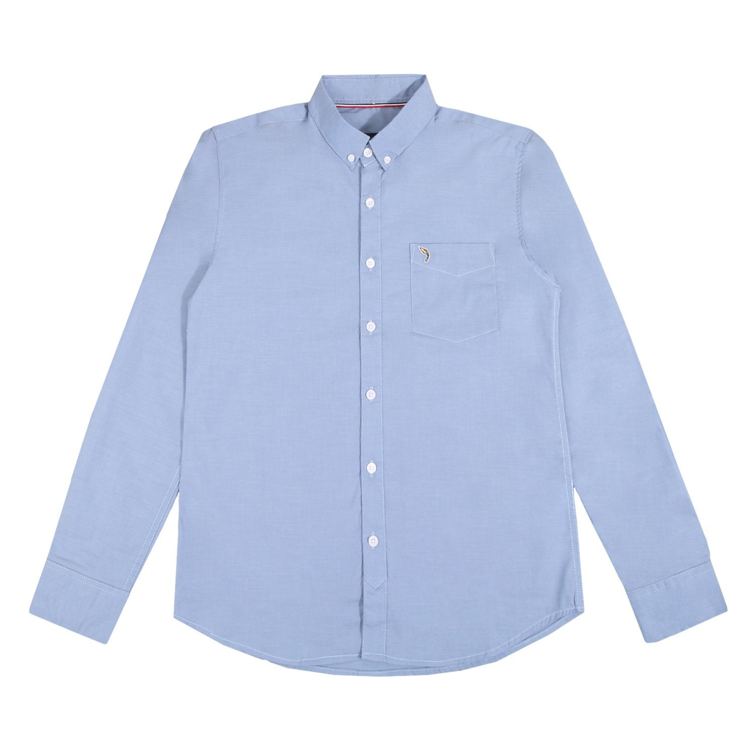 Terry Oxford Baby Blue Shirt