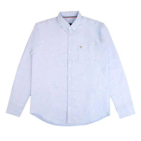 Terry Oxford Light Baby Blue Shirt