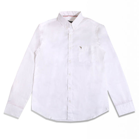 Terry Oxford White Shirt