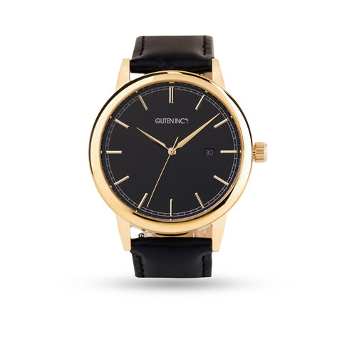 Vallery Watch Black Gold