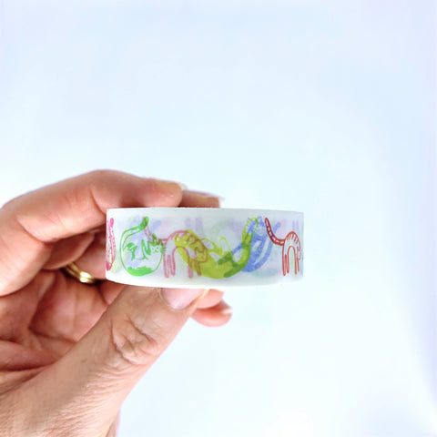 Cheeky Cats Washi Tape