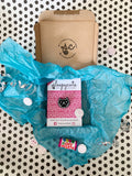 Bestie pin badge box - One cat face pin