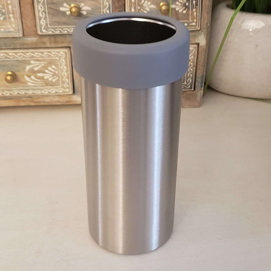 12oz Slim Steel Can Cooler