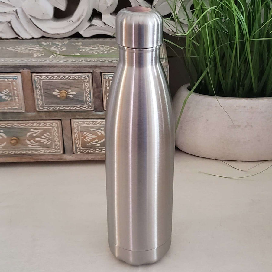 17oz (500ml)  Stainless Steel Water Bottle