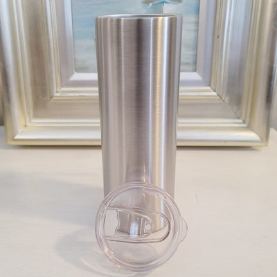 Skinny- Screw Top Straight 20oz Tumbler <p>- STRAW NOT INCLUDED
