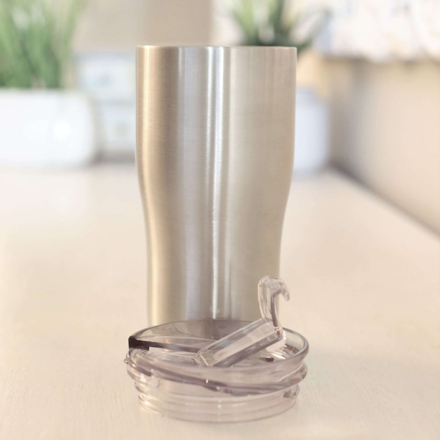 Screw On Lid 30oz Modern Curve Tumbler<p>- STRAW NOT INCLUDED