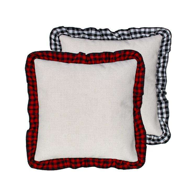 Case of 10 Buffalo Plaid Pillow Cases