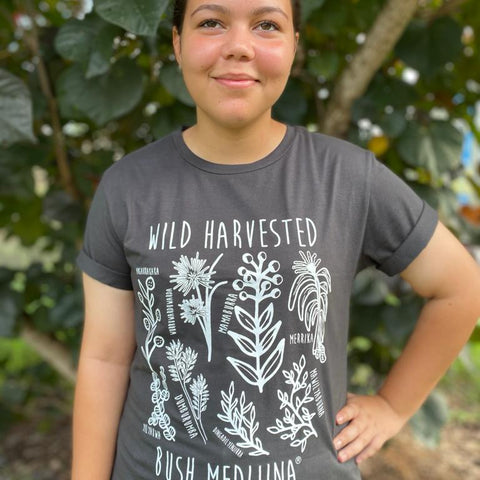 Wild-Harvested Tee - Charcoal