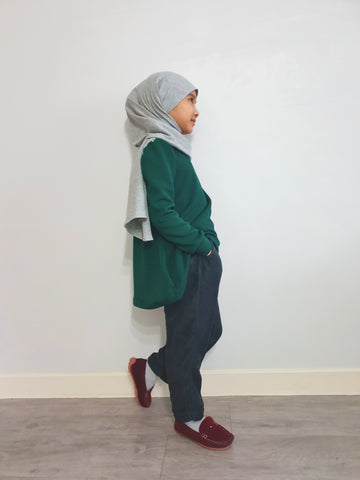 Noora Top(Forest Green)