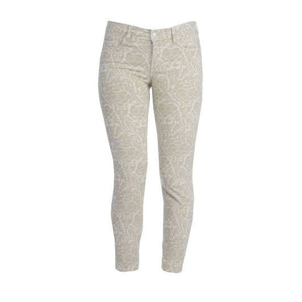 NYDJ Not Your Daughter's Jeans Alisha Ankle Bone Tan Primrose Pants