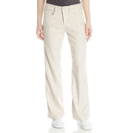 NYDJ Not Your Daughter's Jeans Wylie Sand Dollar Tan Linen Trousers