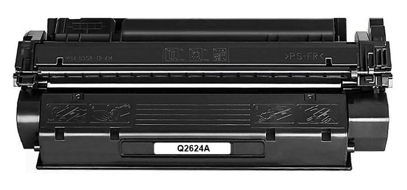 Q2624A Premium Compatible Mono Laser Toner Cartridge. Replacement for HP LaserJet 1150, 1150 Series