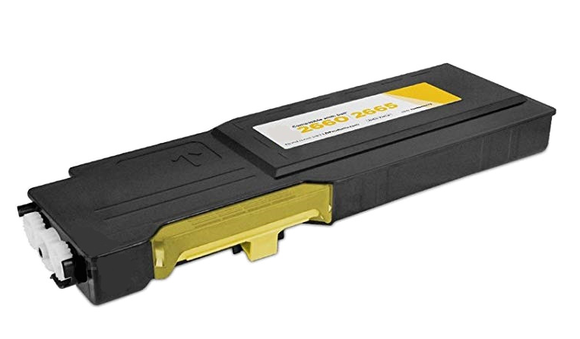 C2660/2665Y Compatible Yellow Color Toner Cartridge