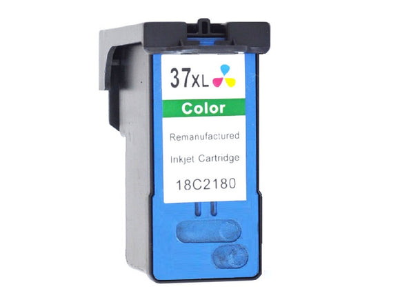 18C2180, No.37XL Remanufactured Color HY Inkjet Cartridge