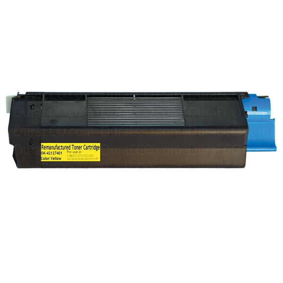42127401, C5100n Yellow Compatible Color Toner Cartridge