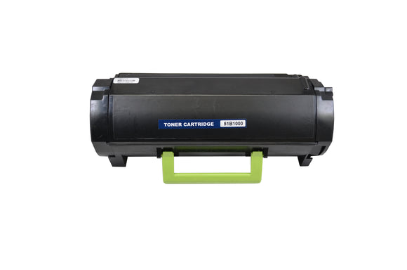 51B1000 Remanufactured Laser Toner Cartridge. Replacement for Lexmark 51B1000, 51B00A0