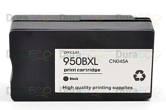 CN045AN, HP 950XL Black Remanufactured HY Inkjet Cartridge