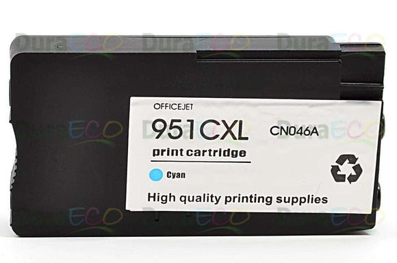 CN046AN, HP 951XL Cyan Remanufactured HY Inkjet Cartridge