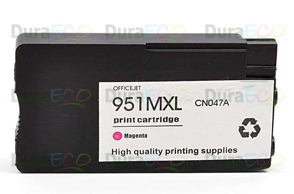 CN047AN, HP 951XL Magenta Remanufactured HY Inkjet Cartridge