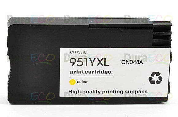 CN048AN, HP 951XL Yellow Remanufactured HY Inkjet Cartridge