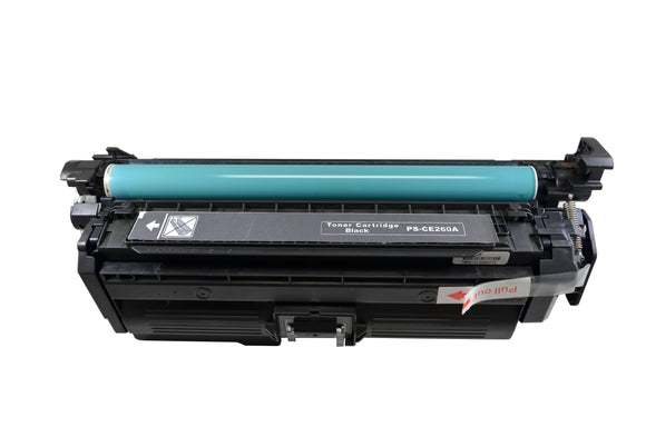 CF260A, CF261A, CF262A, CF263A Compatible Color Toner Cartridge