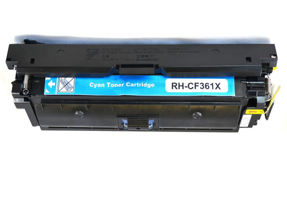 CF361X Premium Compatible Color Laser Toner. Replacement for HP CF361X, 508X