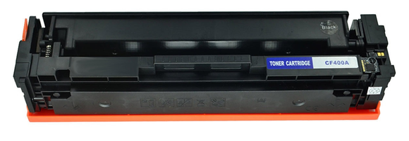 CF400A Black Compatible Color Toner Cartridge