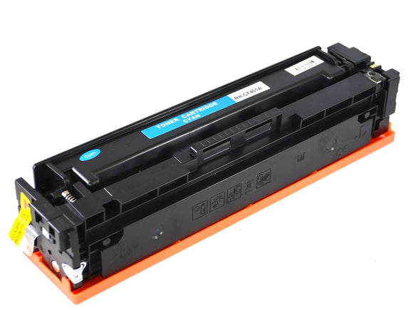 CF401A Cyan Compatible Color Toner Cartridge