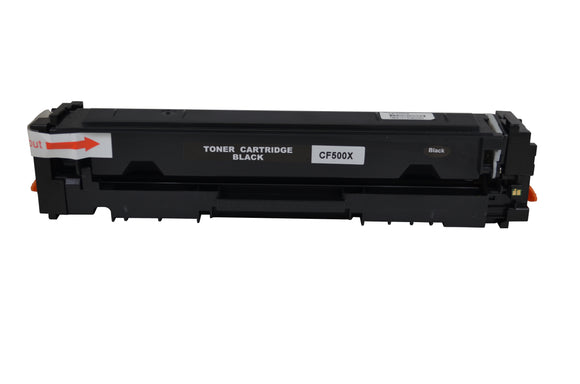 CF500X/01X/02X/03X Premium Compatible Color Laser Toner . Replacement for HP Color LaserJet Pro M254dw, M254nw, MFP M280nw, MFP M281fdn, MFP M281fdw