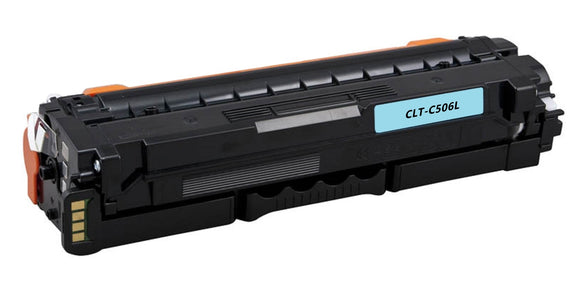 CLT-C506L, CLP680 Cyan Compatible Color Toner Cartridge