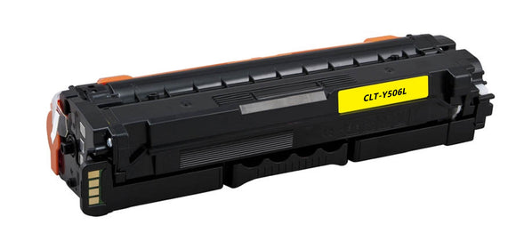 CLT-Y506L, CLP680 Yellow Compatible Color Toner Cartridge