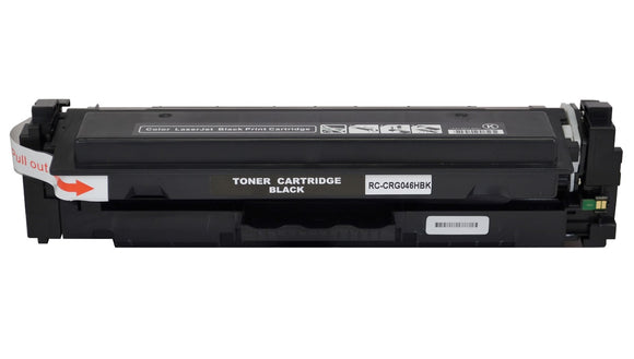 CRG046HBK High Yield Black Compatible Toner Cartridge