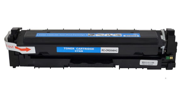 CRG046HC High Yield Cyan Compatible Toner Cartridge