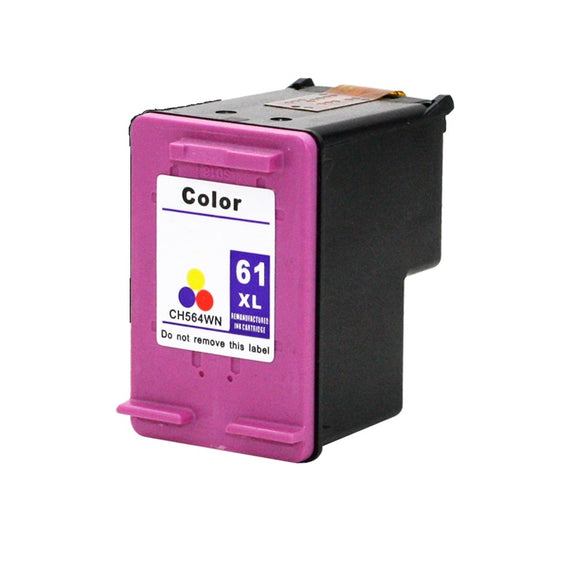 CH564WN, HP 61XL Color #140 Remanufactured Ink Cartridge