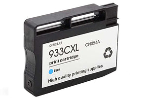 CN054AN, HP 933XL Cyan Remanufactured HY Inkjet Cartridge
