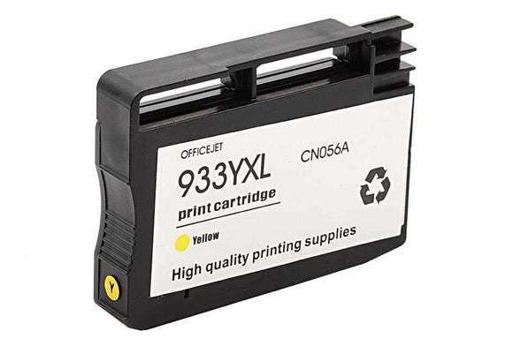 CN056AN, HP 933XL Yellow Remanufactured HY Inkjet Cartridge