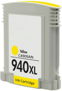 C4909AN, HP 940XL Yellow Remanufactured HY Inkjet Cartridge